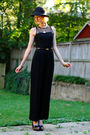 Black-vintage-jumper-black-h-m-hat-black-finsk-shoes-gold-vintage-necklace