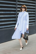 not your average shirt dress