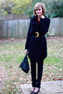 Black-anthropologie-sweater-ruby-red-vintage-blouse-black-h-m-jeans-black-