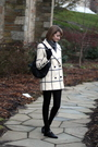 White-vintage-coat-black-vintage-shoes-black-kmrii-purse-black-h-m-gloves-