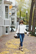 ivory bell sleeve Genuine People sweater