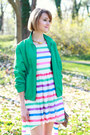 White-rare-dress-aquamarine-zip-ralph-lauren-jacket
