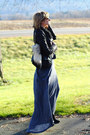 Black-zara-boots-navy-maxi-dress-patterson-j-kincaid-dress