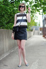 White-striped-nicholas-kirkwood-shoes-black-mini-sophie-hulme-bag