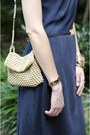 Navy-maxi-dress-vintage-dress-ivory-skinny-vintage-belt