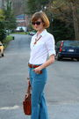 Blue-jenny-jen-jeans-brown-h-m-sunglasses-brown-vintage-necklace-white-tar