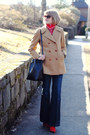 Red-ankle-boots-zara-boots-camel-peacoat-brooks-brothers-coat