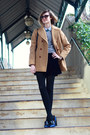 Camel-vintage-peacoat-brooks-brothers-coat