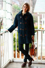 Navy-burberry-coat-navy-h-m-jeans-ivory-vintage-sweater-brown-urban-outfit