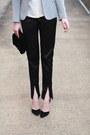 Black-velvet-vintage-bag-silver-sparkly-zara-blazer-black-satin-asos-pants