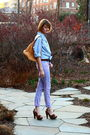 Blue-j-press-shirt-purple-american-apparel-jeans-brown-miu-miu-shoes-silve