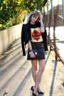 Black-faux-leather-romwe-jacket-black-faux-leather-urban-outfitters-skirt