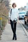 Black-lace-up-booties-pour-la-victoire-boots-black-snakeskin-print-h-m-jeans-