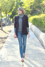 Slippers-belle-by-sigerson-morrison-flats-skinny-current-elliott-jeans