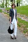 Beige-topshop-top-white-mango-jeans-silver-express-blazer-black-kmrii-purs