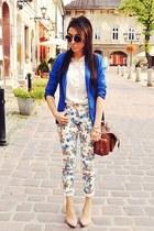 blue c&a jacket