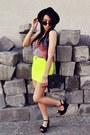 Black-h-m-hat-yellow-bershka-skirt-blue-wwwsheinsidecom-blouse