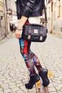 Black-wwwromwecom-leggings
