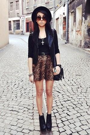 wwwoasapcom skirt - H&M blouse