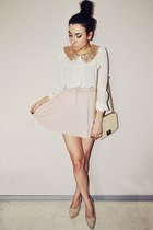 light pink pull&bear skirt