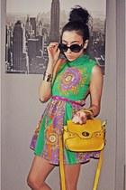 chartreuse wwwromwecom dress