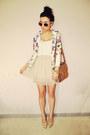 Cream-stradivarius-skirt