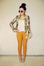 Mustard-new-yorker-pants