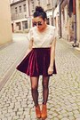 Cream-wwwoasapcom-dress-brick-red-wwwawwdorecom-skirt