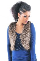 Leopard Fur Vest