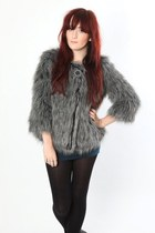 heather gray Dixi coat