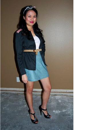 Mirage jacket - Mirage top - Mirage skirt - shoes