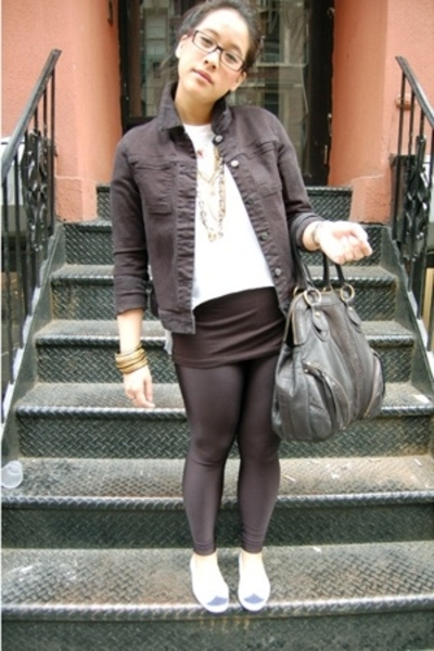Helmut Lang jacket - Costume National accessories - Hanes t-shirt - shoes