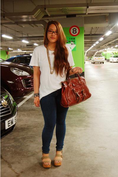 Random Ts, Shirts, Topshop Jeans, Gap Pierre Hardy Shoes, Chloes ...