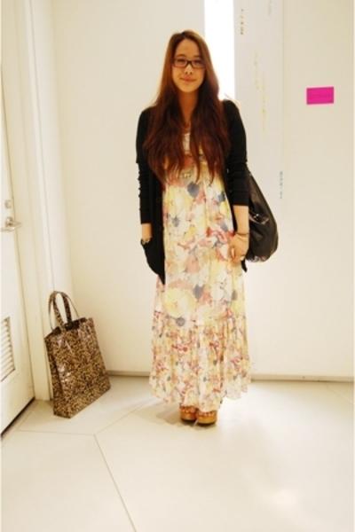 Zara dress - aa sweater - gap x pierre hardy shoes - DIY ME accessories