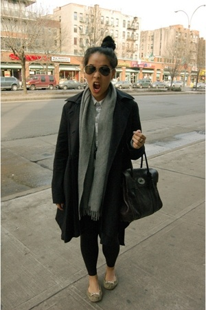 Zara coat - Marc by Marc Jacobs shoes - Mulberry accessories