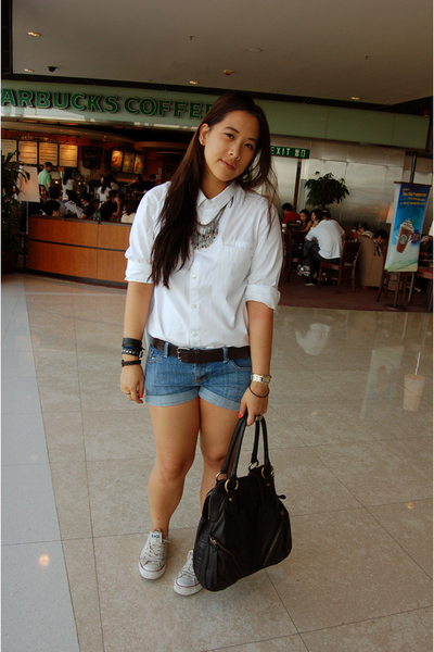 Opening Ceremonyceremony for uniqlo shirt - Forever 21 shorts - Conversestume na