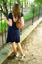 Grard darel purse - monoprix dress - Topshop shoes