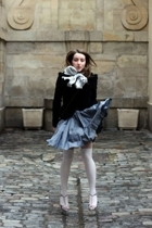 H&M shirt - H&M jacket - H&M scarf - Princesse Tam tam socks - Julien Granero fo