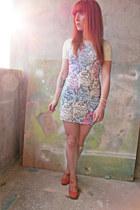 QooQoo dress - Zigi NewYork wedges