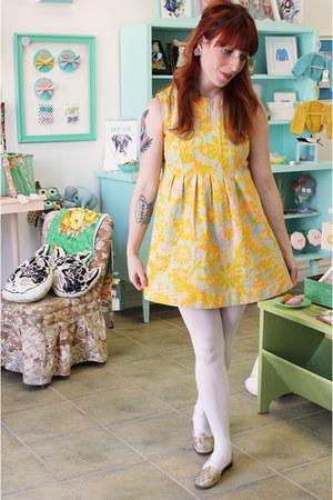 1960s floral Exile Vintage dress