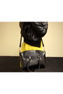 Black-h-m-jacket-yellow-club-l-dress-black-oasap-bag