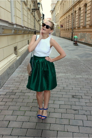 OASAP skirt - Primark shoes - Tally Weijl bag - c&a sunglasses - asos top