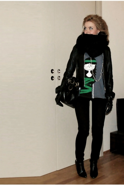 Cubus jacket - Marc by Marc Jacobs t-shirt - J Brand jeans - calvin klein boots