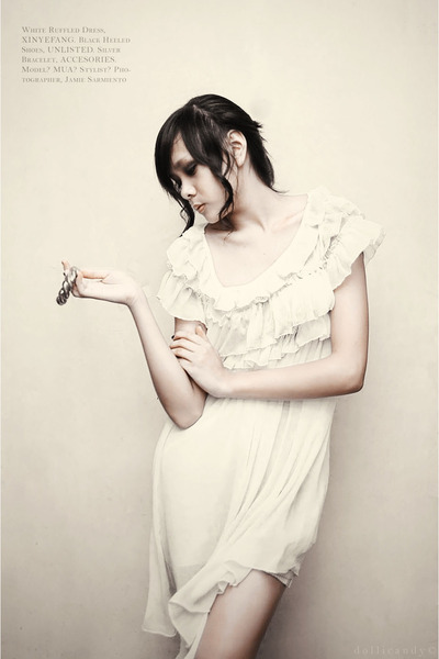Xin Ye Fang dress - Unlisted shoes - accesories bracelet
