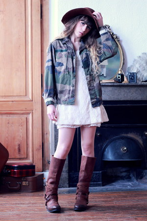 army green Doll Poupée jacket