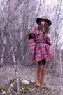 Tawny-zara-boots-tawny-american-apparel-hat-dark-brown-doll-poupée-hat