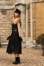 Black-vintage-belt-black-h-m-gloves-black-lollipops-heels