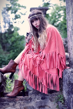 carrot orange show girls cape - brown Pepe Jeans boots