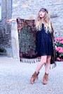 Brown-h-by-hudson-boots-black-molly-bracken-dress