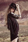 Beige-mjus-boots-black-spell-designs-dress